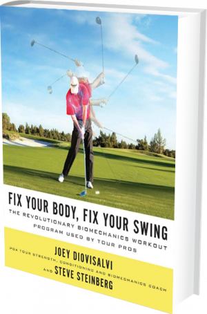 Fix Your Body, Fix Your Swing book cover